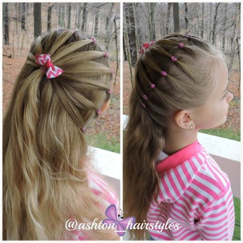 Simple Hairstyles by Such A Simple Hairstyle With An Added Pop To It