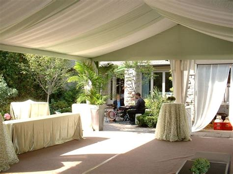 tent draping tutorial diy wedding tent draping pictures to pin on pinterest