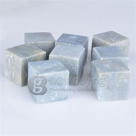 Soapstone Cubes Marble Soapstone Ice Rocks Tumbled Cubes Wine Whiskey