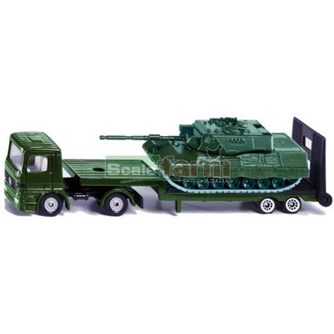 Siku Low Loader With Tank siku 1637 low loader with battle tank