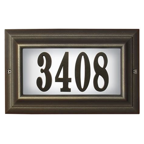 house address numbers pin house number plaque home address on pinterest