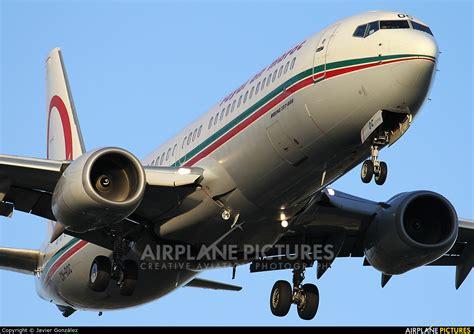 cn roc royal air maroc boeing 737 800 at barcelona el prat photo id 616807 airplane
