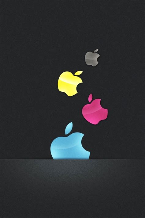 Apple Mac Brand Logo Iphone Wallpaper 4 4s 55s 5c 66s Plus apple i m a mac iphone 4s wallpapers free 640x960 hd
