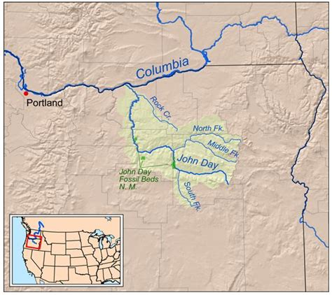 map of oregon day map oregon s day river oregon maps
