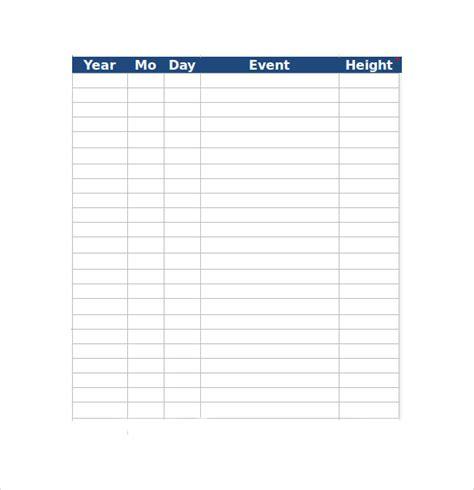 excel timeline templates sle excel timeline 7 documents in pdf excel