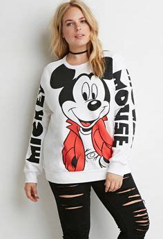 Sweater Hoodie Mickey Fashion Wanita Murah mouse floral sweater jumper womens swag fashion grunge retro top