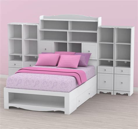 full size bed with storage nexera full size bed with storage 315403