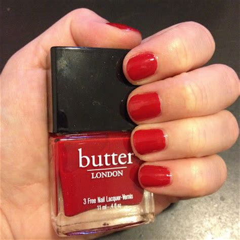 red nail beds the beauty of life last minute mani butter london come