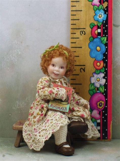1 12th scale porcelain dolls 1 12th scale dollhouse miniature porcelain