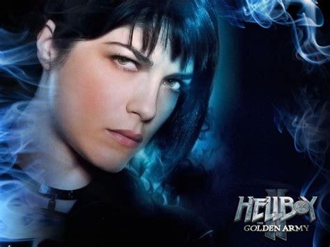 Selma Blairs Black Number For Hellboy Ii by Wallpaper Hellboy Ii The Golden Army Selma Blair