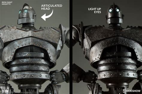 the iron giant the iron giant the iron giant maquette by sideshow collectib sideshow collectibles