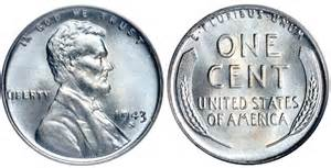 How Much Is A 1943 Silver Wheat Penny Worth by Gallery For Gt 1943 Zinc Penny