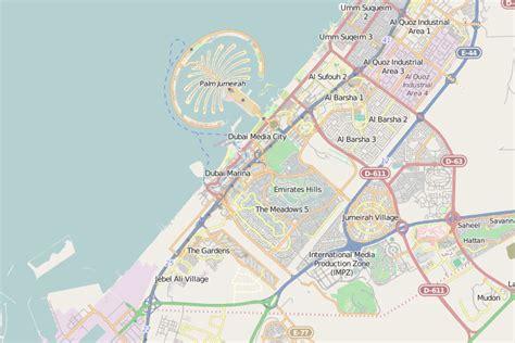 map of dubai map of dubai dubai