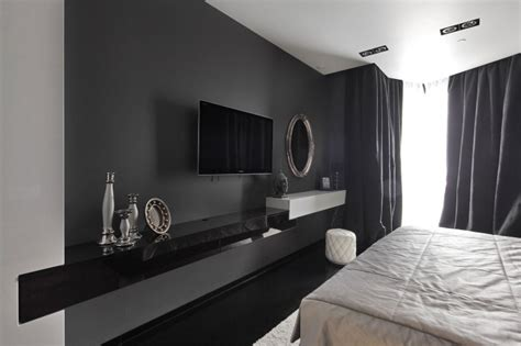 black and white decor for bedroom project begovaya stunningly stylish interiors in striking