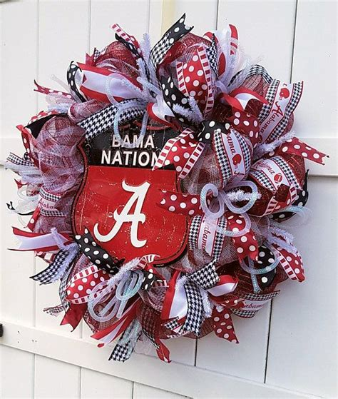 unique gifts for alabama fans 25 unique alabama wreaths ideas on alabama
