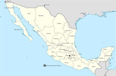 map of mexico states 161 qu 233 divertido un mapa de m 233 xico a map of the mexican