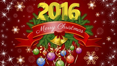 christmas holiday merry christmas and a happy 2016 wallpaper holiday