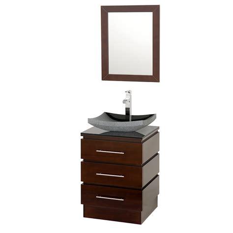 espresso bathroom vanities 22 quot rioni 22 espresso bathroom vanity bathroom vanities