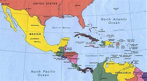 map of us and central america map of central america and southern u s react to who