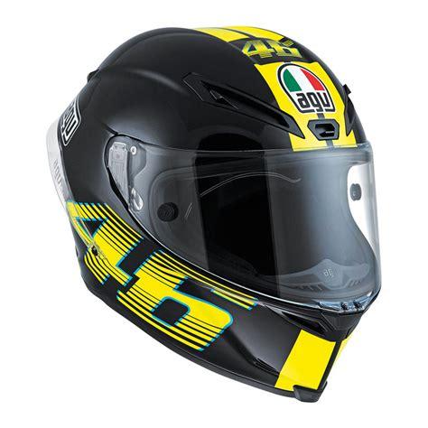 Kemeja Vr46 Agv Helmet 02 agv vr46 corsa r matt black bikeworld ireland