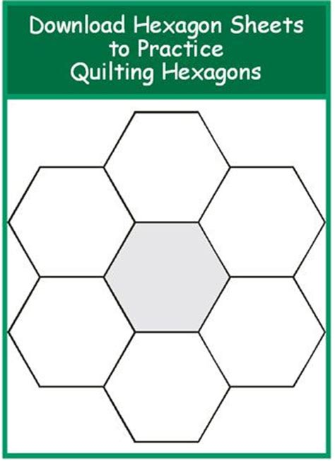 quilting hexagon template 1000 images about printable templates on
