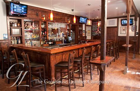 restaurant bar tops for sale mahogany wood bar top with chicago bar rail in yardley pa
