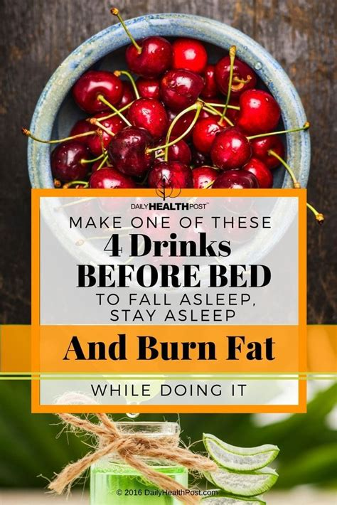 fat burning drinks before bed 17 best ideas about drinks before bed on pinterest slim