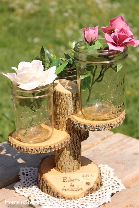 Best 25  Log centerpieces ideas on Pinterest   Wedding log
