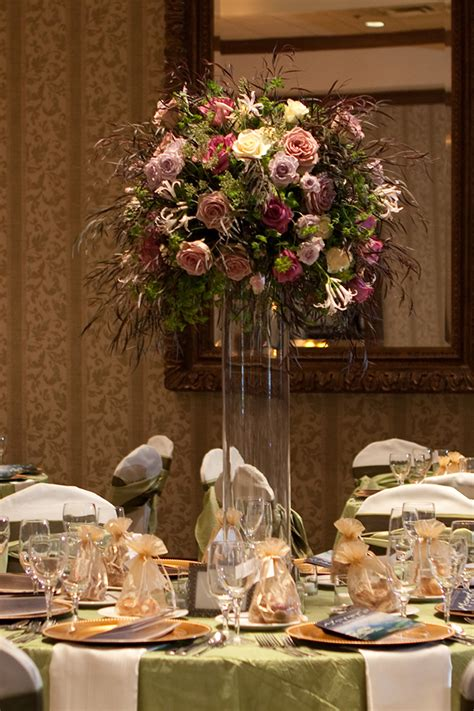 Flowers Decoration In Home Floral Verde Llc Elevated Centerpieces