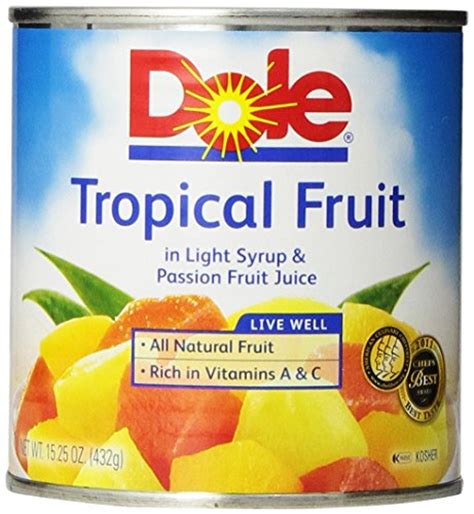 Tropical Fruit Cocktail Dole lowest price dole mixed tropical fruit in fruit