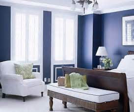 navy and white bedroom decoist
