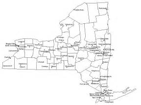 Map Of New York State With Major Cities by Empire State Roads Maps