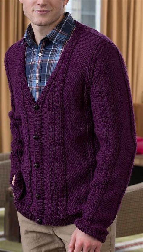 V Neck Pattern Cardigan v neck cable cardigan knitting pattern zip sweater
