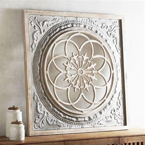 wall decor galvanized medallion wall decor pier 1 imports
