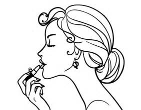makeup coloring pages colored page make up the painted by carleylu16