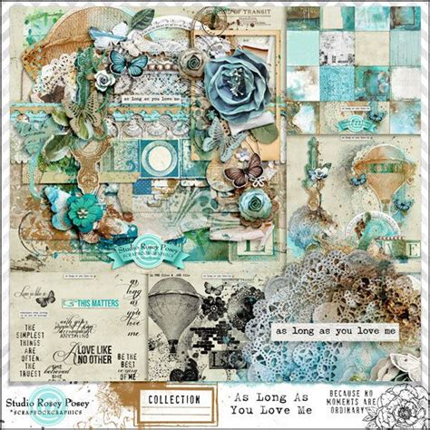 Digital Scrapbooking Wiki Launches 3 by As As You Me Collection Digital Scrapbooking