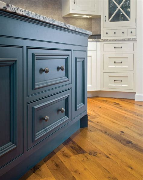 blue painted kitchen cabinets peacock blue painted kitchen cabinets house pinterest