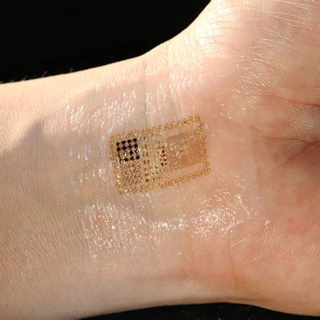 biostamp temporary tattoo wearable electronic circuits by mc10