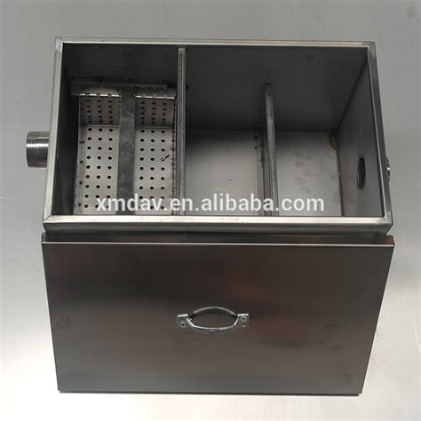 kitchen grease trap design grease interceptor for wastewater treatment in restaurant