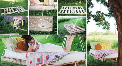 bed swing made from pallets diy pallet swing beds bring relaxation to your home
