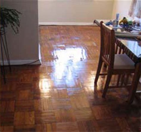 Refinishing Parquet Floors   SandFree.com