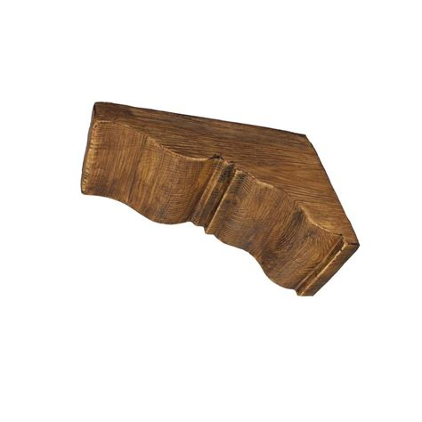 Faux Wood Corbels by 17 3 4 In X 17 3 4 In X 7 1 2 In Prefinished