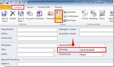 Calendar When Not To Get How To Add Birthdays To Calendar In Outlook