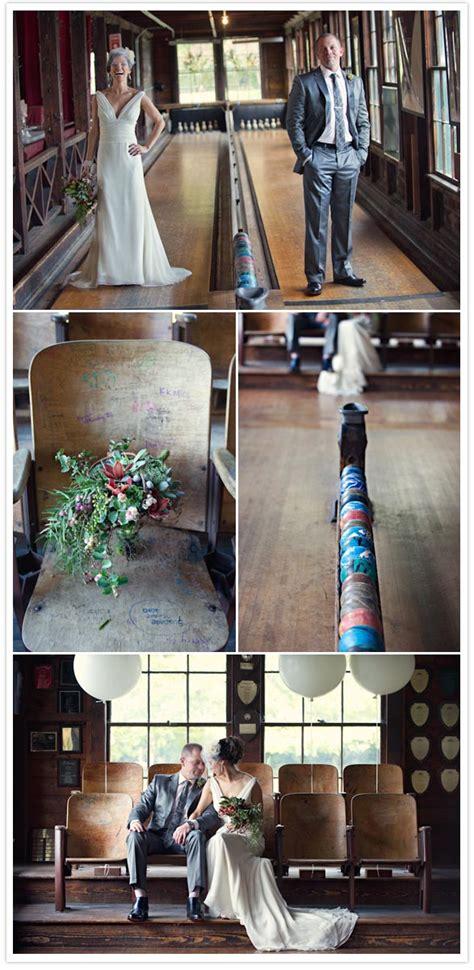 a charming bowling wedding tim real weddings 100 layer cake