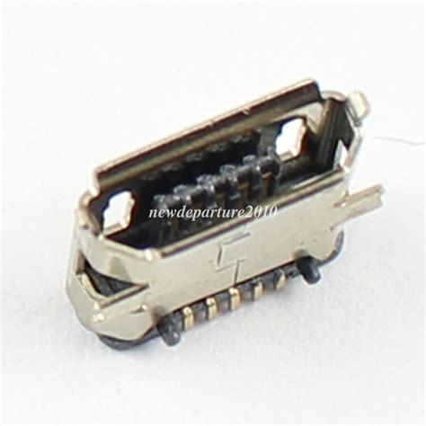 Usb Socket Connector Smd Diy Type A 5 Pins Usb Pcb 5pcs micro usb type b 5 pin smt socket connector