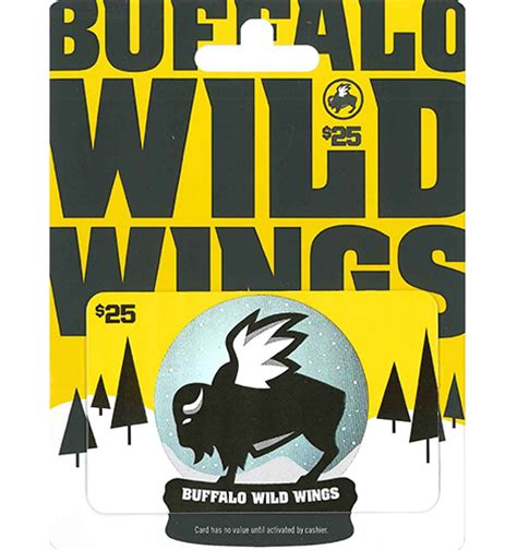 Buffalo Wild Wings Gift Card Balance - buffalo wild wings gift card balance lamoureph blog