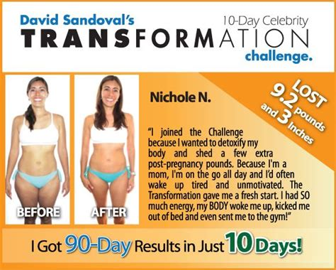 10 Day Detox Success Stories by Success Stories Purium 10 Day Transformation