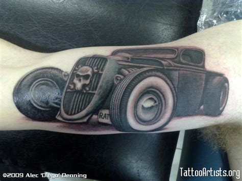 rat rod tattoos designs rat rod tattoos