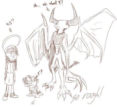 doodle how to make demons more references by kydoon on deviantart