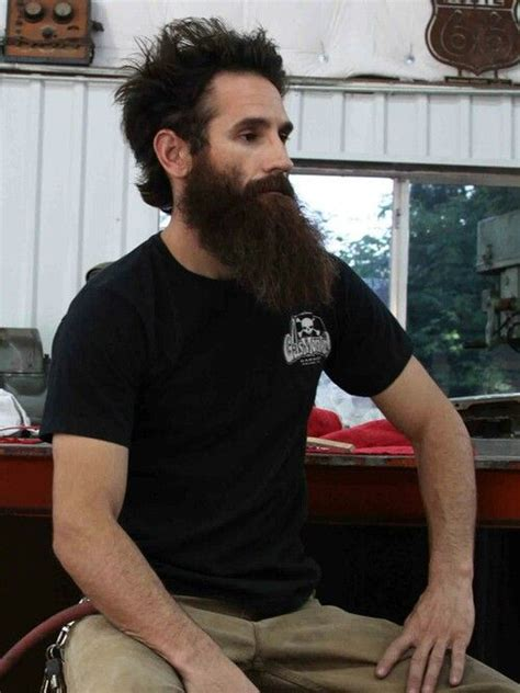 aaron kaufman magnificent beard looking guys p